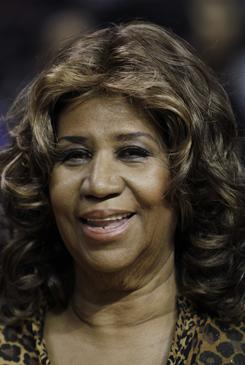 Aretha Franklin tells the AP that a Whole Foods-type diet has been an essential part of her recovery from surgery in December. She hopes to get down to a size 16.