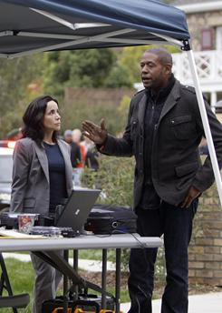 Following the leader: Janeane Garofalo and Forest Whitaker are part of a new Criminal Minds team investigating horrific crimes.