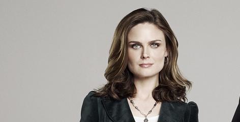 "Emily Deschanel: ""Bones"" Brennan."