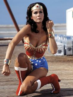 Wonder Woman: Lynda Carter played her in the 1970s. Adrianne Palicki will play her in NBC's planned update.