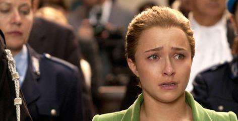 Hayden Panettiere: Plays Amanda Knox on Lifetime.
