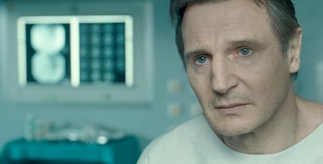 American scientist Martin Harris (Liam Neeson) awakens from a coma to find that he is a man without an identity in the thriller Unknown.