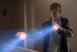 High school student John (Alex Pettyfer) practices his newfound abilities in the fantasy I Am Number Four.