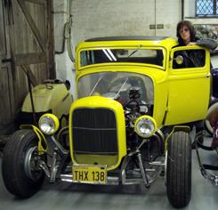 Little Deuce Coupe: One of Jeff Beck's favorite cars is this hot rod that's a replica of the one from the 1973 film American Graffiti.