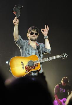 Eric Church blends banjo, grunge guitar and more for his 'Homeboy' concoction.