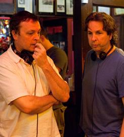 "Writers/directors/producers/brothers: Bobby, left, and Peter Farrelly revisit their edgier early days in their new comedy, out Friday. ""Comedy ain't always pretty, and to make people laugh, you have to surprise them,"" Bobby says."