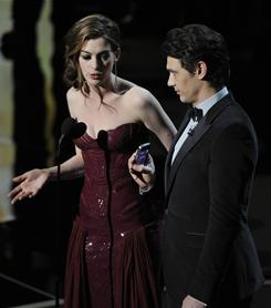 James Franco and Anne Hathaway weren't the best Oscar hosts, but they weren't the worst, either.