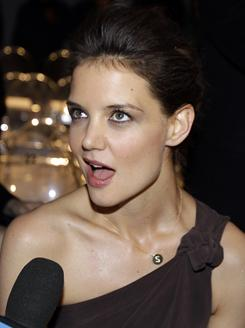 "Katie Holmes' attorney says that Star Magazine libeled her with a headline in January that read ""Katie DRUG SHOCKER!"""