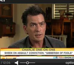 """Clearly my efforts are paying off,"" Charlie Sheen told AP on Monday about CBS agreeing to pay the Two and a Half Men crew."