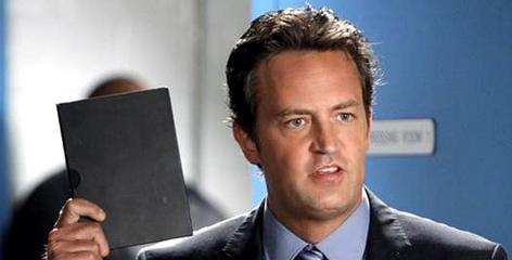 Matthew Perry: Mr. Sunshine breaks through.