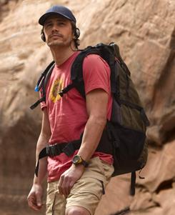 James Franco earned an Academy Award nomination for his work in 127 Hours.