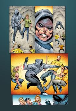 A preview page from the first issue of The Infinite, scheduled to debut in early August.