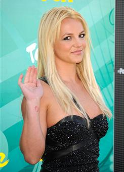 Britney Spears' new album, Femme Fatale, is due March 29.