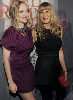 Amanda Seyfried, left, stars in director Catherine Hardwick's Red Riding Hood, in theaters Friday.
