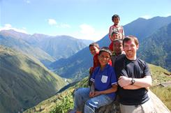 Conor Grennan founded the non-profit Next Generation Nepal to return children displaced by conflict to their parents.
