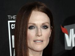 You betcha: Julianne Moore will portray Sarah Palin in Game Change, an HBO film about John McCain's 2008 presidential campaign.