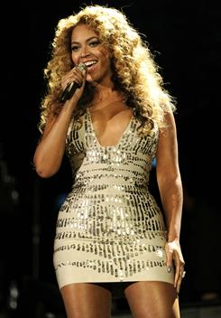 Beyonce: She played a private show for Gadhafi family.