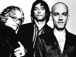 Michael Mills, left, Peter Buck and Michael Stipe formed the band R.E.M. in 1980. Debut album Murmur was released in 1983. Recently released Collapse Into Now is their 15th studio album.