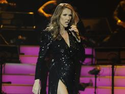 Dion. Celine Dion: One of the highlights of her new Caesars Palace show is a medley of James Bond themes.