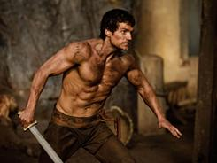 Henry Cavill, whom cable viewers might remember from Showtime's The Tudors, will ripple across the big screen next fall in Immortals.