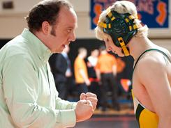 Paul Giamatti stars as an attorney and  volunteer wrestling coach Mike Flaherty. Alex Shaffer is a  real-life high school wrestler  in his first film.