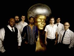 Members of the band Black Joe Louis: Joseph Woullard, left, Bill Stevenson, Matthew Strmiska, Joe Lewis, Zach Ernst, Derek Phelps and Jason Frey.