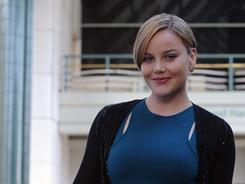 She's keeping herself busy: Australian actress Abbie Cornish, 28, is currently co-starring in Limitless, which opened Friday. Sucker Punch, in which she plays a sexy heroine named Sweet Pea, opens this week.