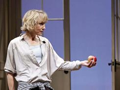 Lia Williams performs in the revival of Tom Stoppard's Arcadia in at New York's Barrymore Theatre.