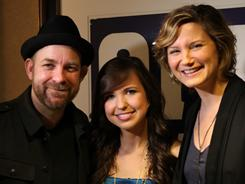 Savannah Berry, 16, is helping promote the Academy of Country Music awards with Kristian Bush and Jennifer Nettles of Sugarland.