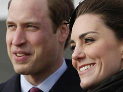 Prince William and his fiancee, Kate Middleton, announced their engagement last November and plan to marry April 29.