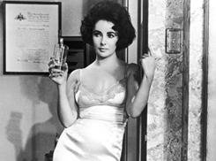 Elizabeth Taylor in her Oscar-winning role in 1960's Butterfield Eight.