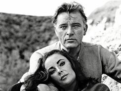 Furious Love: Richard Burton and Elizabeth Taylor during the filming of The Sandpiper in 1964.