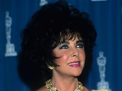 This one isn't for a movie: Elizabeth Taylor received an Oscar for the Jean Hersholt Humanitarian Award at the 1993 Academy Awards. She founded two organizations to help AIDS patients and research.