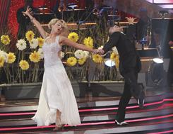 Mark and Chelsea shed the first-dance jitters with their first live performance on March 21.