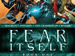 "Fear Itself makes its debut as a seven-issue monthly miniseries on April 6. ""We glibly demolish midtown Manhattan on a weekly basis,"" says writer Matt Fraction."