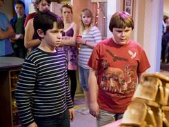 Seventh grade is hardly heaven: Greg (Zachary Gordon) has his best friend, Rowley (Robert Capron), by his side as he battles adolescent angst and a bothersome big brother.