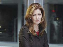 New career path: Dr. Hunt (Dana Delany) can no longer perform surgery after a car accident, so she becomes a medical examiner.