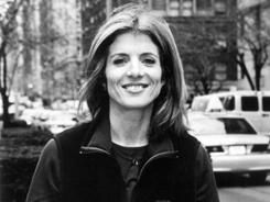 Caroline Kennedy's new poetry anthology hits stores Tuesday.