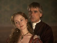 Love him or hate him: Rodrigo Borgia, aka Pope Alexander VI (Jeremy Irons), has plenty of mistresses  including Giulia Farnese (Lotte Verbeek)  and plenty of enemies.
