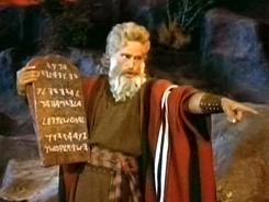Let my people go!: It's almost Easter, which means it's time to sit down with the Cecil B. DeMille classic The Ten Commandments starring Charlton Heston.