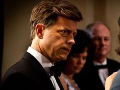 Camelot comes to TV: Greg Kinnear stars as John F. Kennedy in the controversial miniseries The Kennedys.
