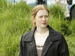 Murder most foul: Mireille Enos portrays a detective investigating a teenage girl's murder in The Killing, premiering Sunday.