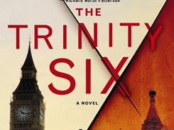 This is the book cover of Charles Cumming's Cold War novel, The Trinity Six.