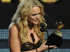 Miranda Lambert received the 2011 Grammy for best female vocal country performance.
