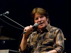 John Fogerty was a guest speaker at the University of Southern California's Thornton School of Music.