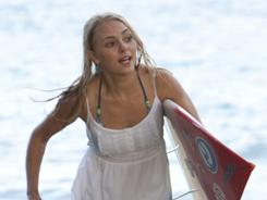 AnnaSophia Robb plays Bethany Hamilton, who lost her arm to a shark in 2003.