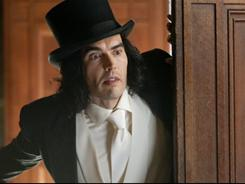 Russell Brand's newcomer Arthur came in second to Hop, in which he voiced an animated bunny.