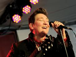 Back with a Siss Boom Bang:  k.d. lang's new album, Sing It Loud, arrives Tuesday.