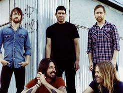 The Foo Fighters are, clockwise left, Chris Shiflett, Pat Smear, Nate Mendel, Taylor Hawkins and Dave Grohl. 