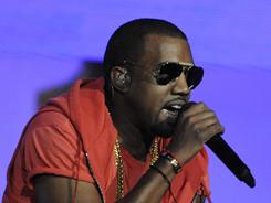 Kanye West:He'll headline several music festivals this spring and summer, including this weekend's Coachella bash.